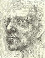 Head of an Old Man by William T. Ayton