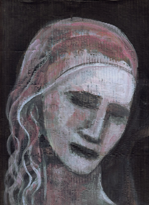 Sorrow (Head for a Pietà) by William T. Ayton